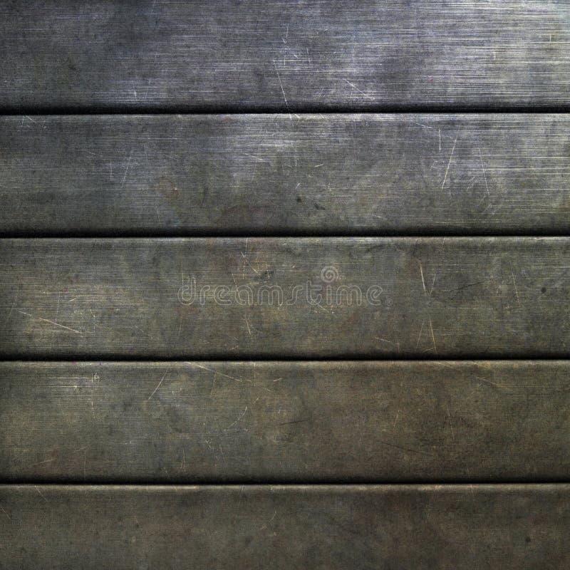 金属纹理 向量例证