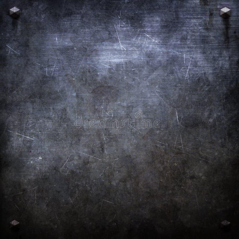 金属纹理 皇族释放例证