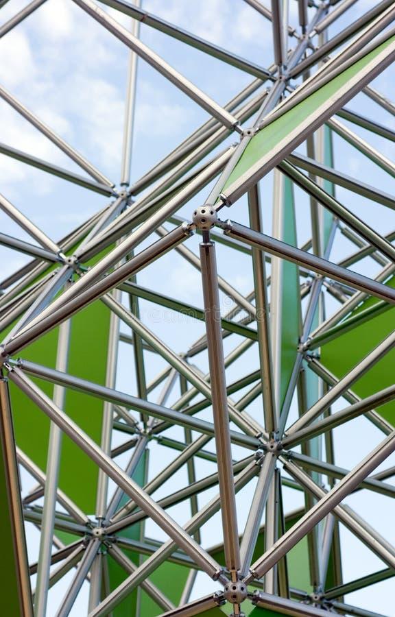 金属结构 图库摄影