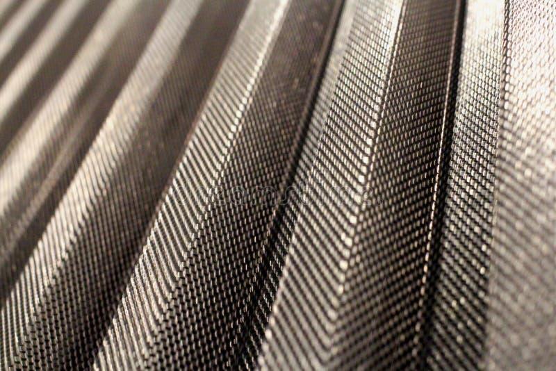 金属耐久的穿孔的涂层钢片技术运输 免版税库存照片