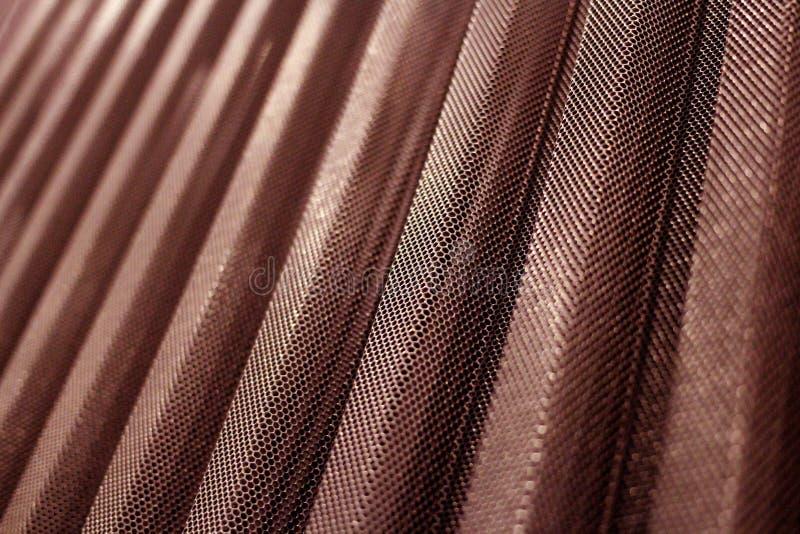 金属耐久的穿孔的涂层钢片颜色 库存照片