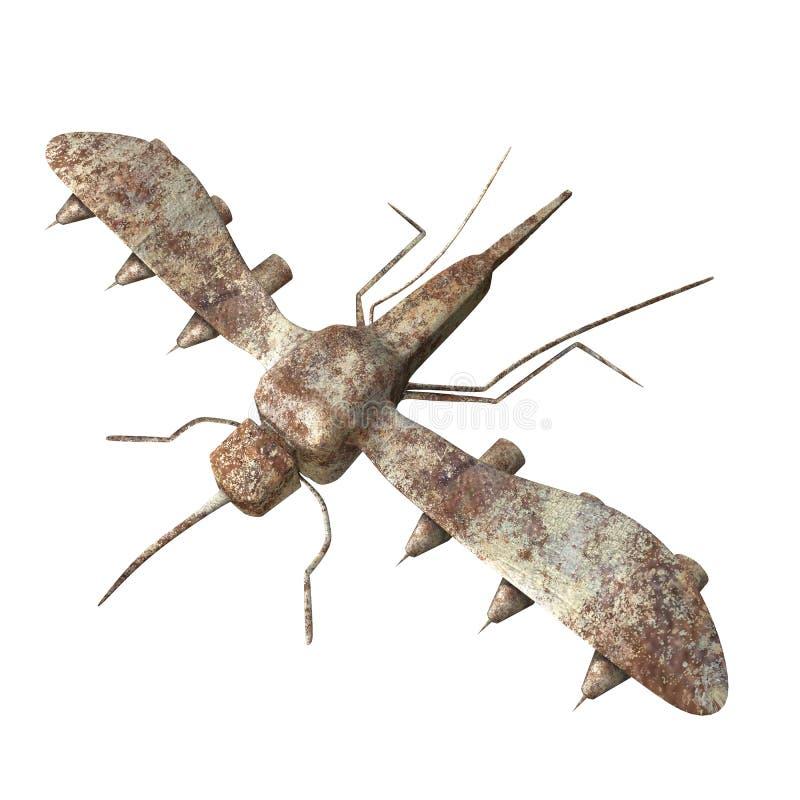 金属蚊子 皇族释放例证