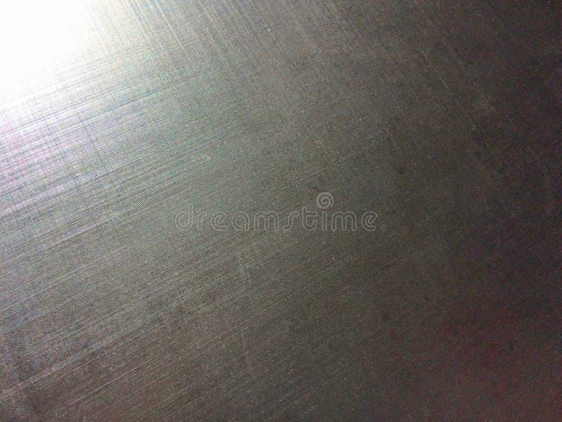 金属表面,铝合金,镁合金,太阳火光,粒状纹理 库存照片