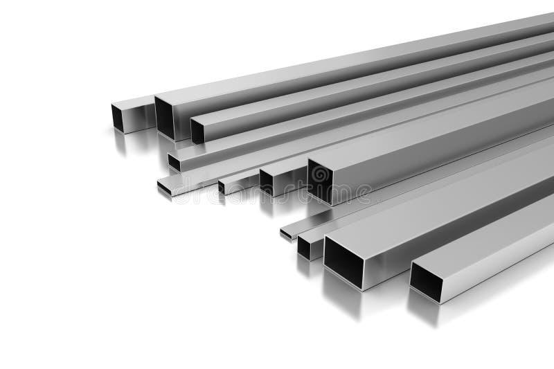 金属配置文件 向量例证