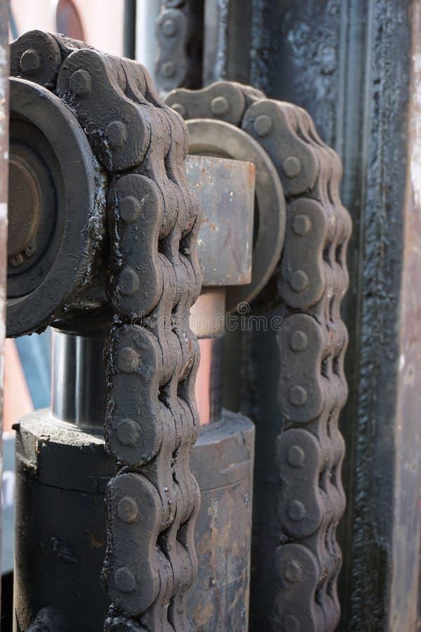 金属链带 免版税库存照片