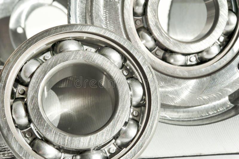 金属轴承 CNC技术,机械工程 免版税库存图片