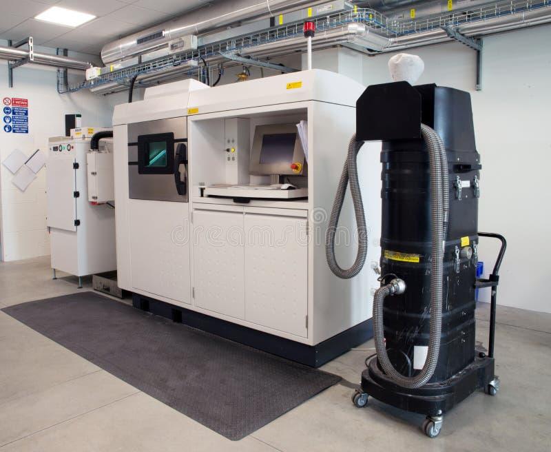 金属3D打印机& x28; DMLS& x29; 库存照片