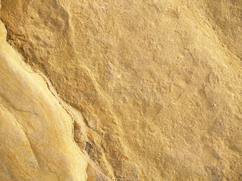 金岩石纹理 免版税图库摄影
