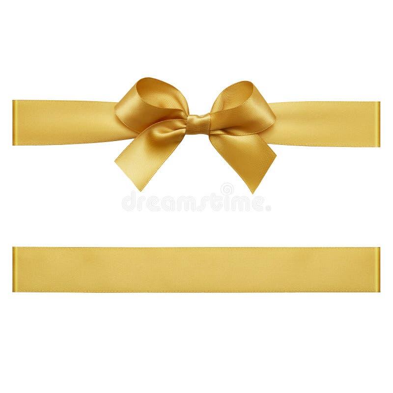 金弓由缎丝带制成 库存图片