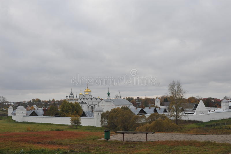 金戒指俄国 苏兹达尔 免版税库存照片