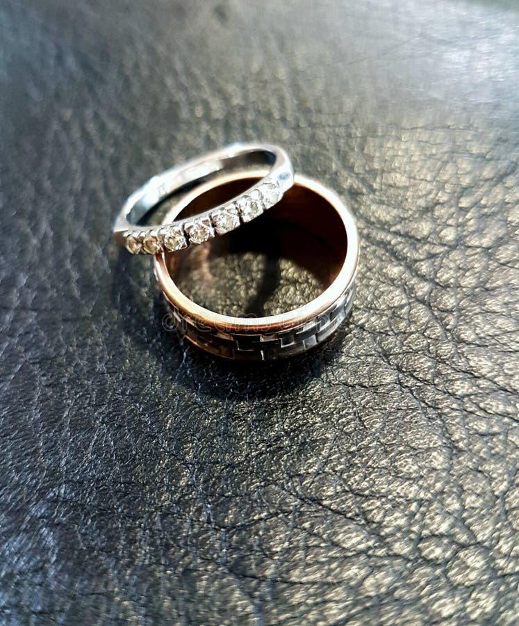 金戒指 免版税图库摄影
