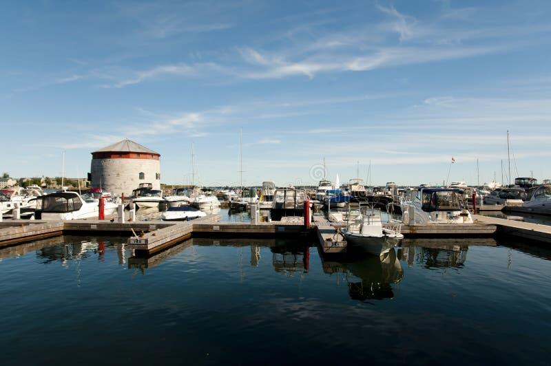 金斯敦港口-加拿大 库存图片