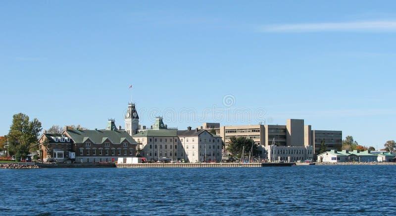 金斯敦,安大略港口 免版税图库摄影