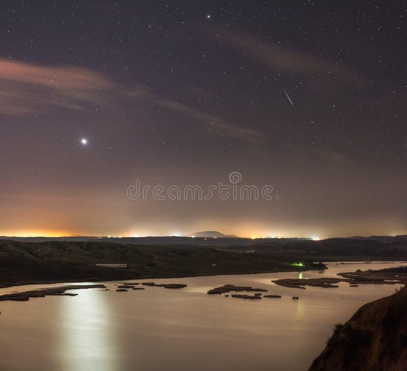 金星光  免版税图库摄影
