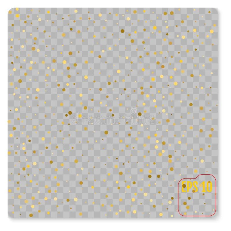 金样式 抽象几何现代背景 向量 库存例证