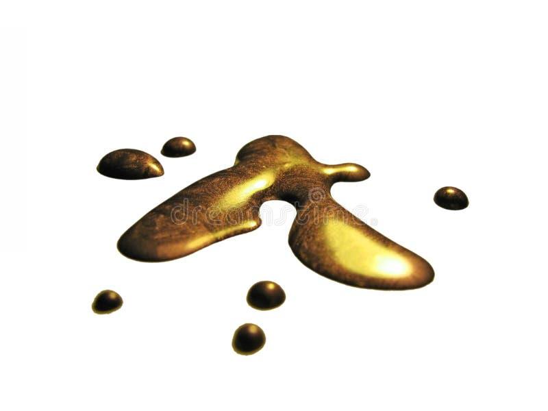 金液体 免版税库存图片