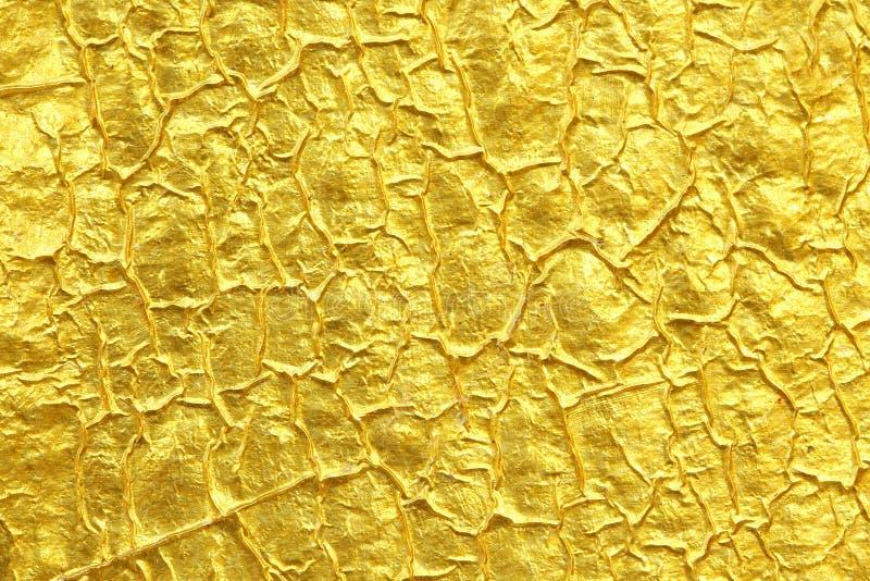 金箔纹理背景 图库摄影