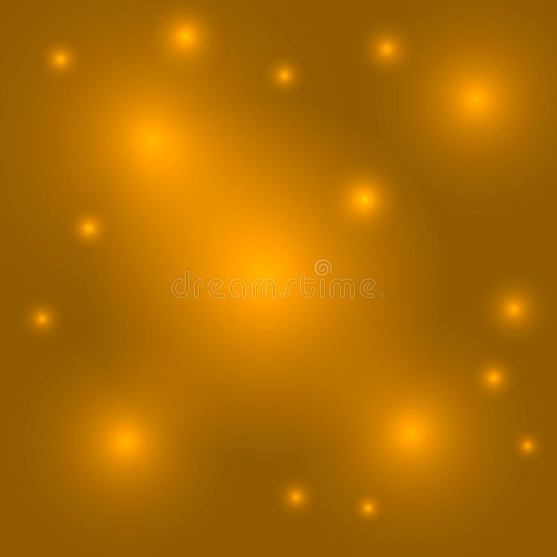 金背景淡黄色摘要爆炸 库存例证