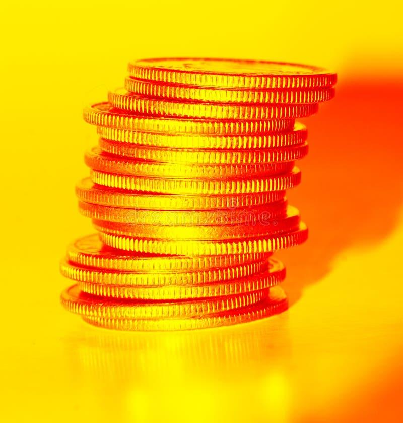 金货币 免版税库存图片
