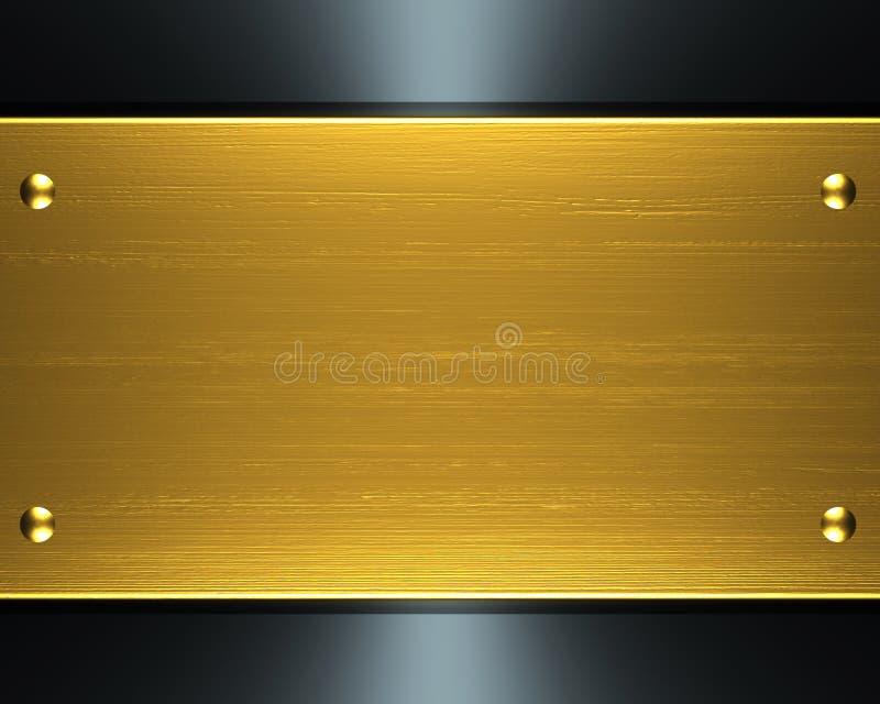 金金属 库存例证