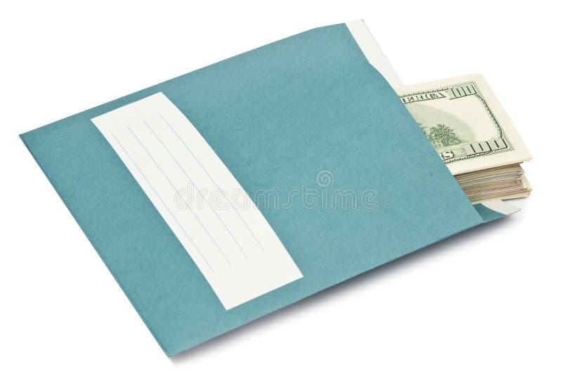 金钱信封 库存图片