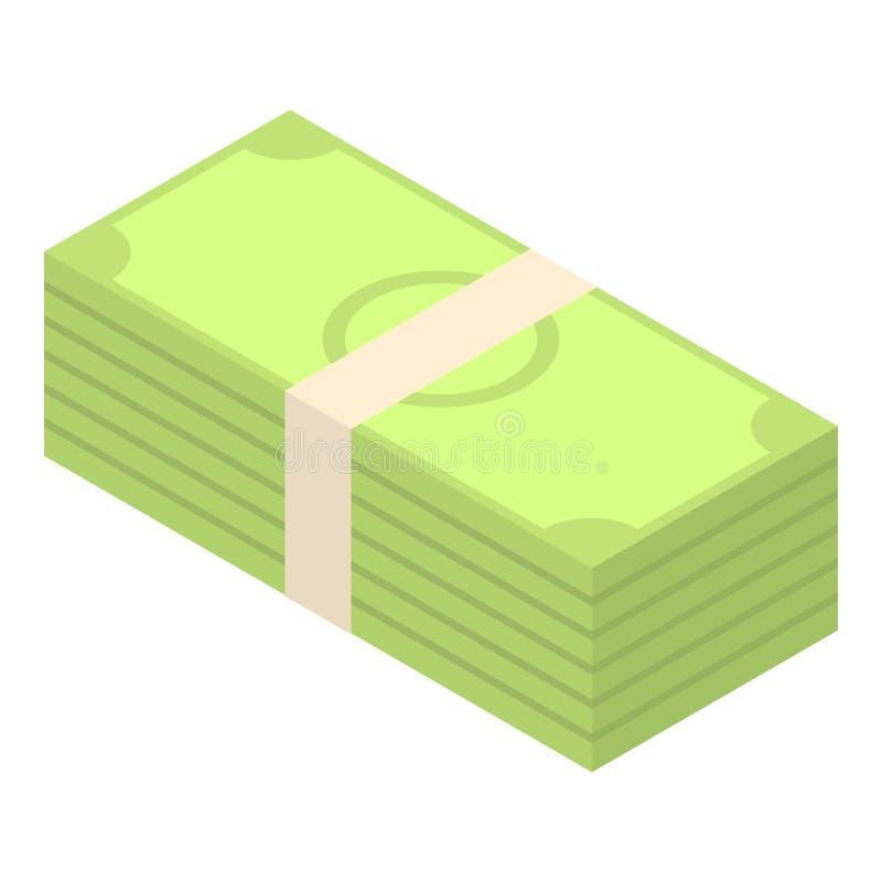 金钱包裹象,等量样式 皇族释放例证