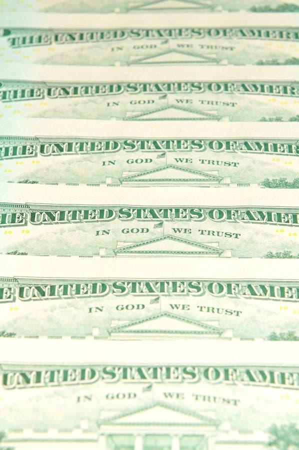 金钱印刷品 库存照片
