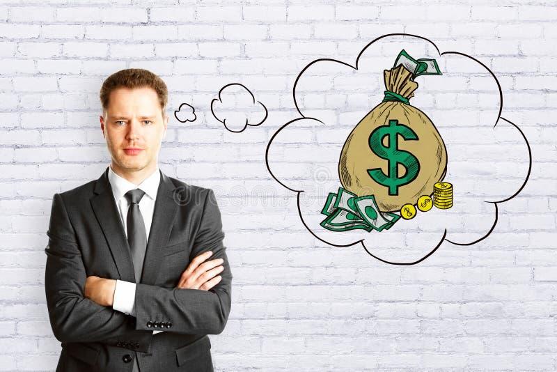 金钱和富有的概念 免版税图库摄影