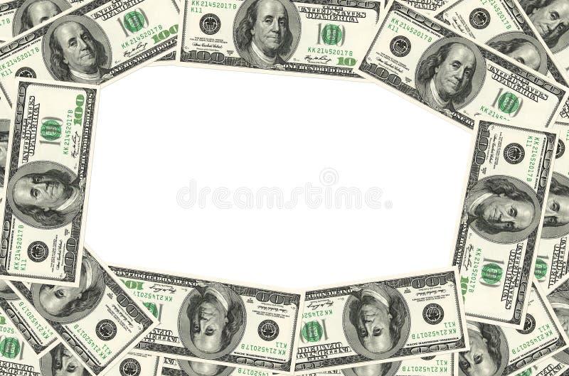 金钱框架 图库摄影