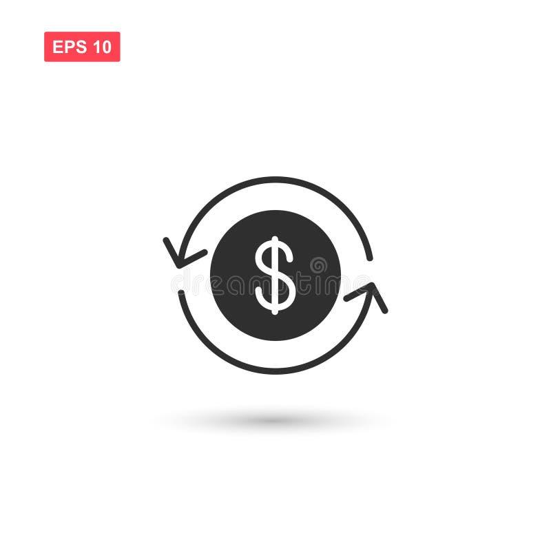 金钱转交象传染媒介隔绝了2 向量例证