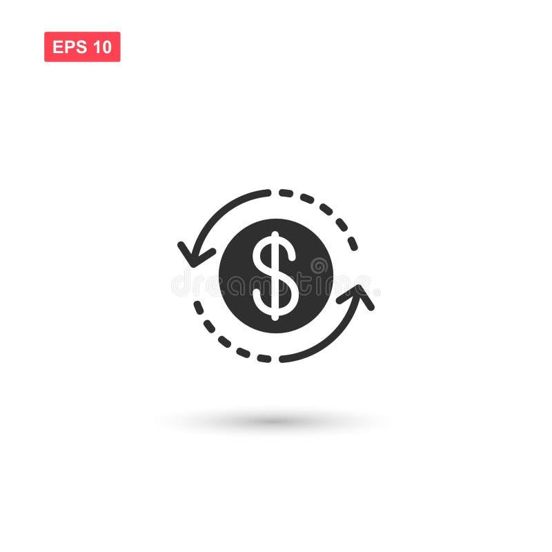 金钱转交象传染媒介隔绝了4 向量例证