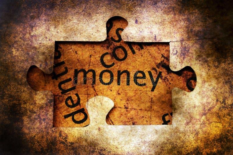 金钱难题难看的东西概念概念 免版税库存照片
