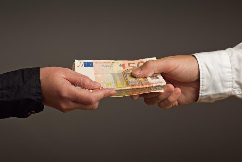 金钱贷款 图库摄影