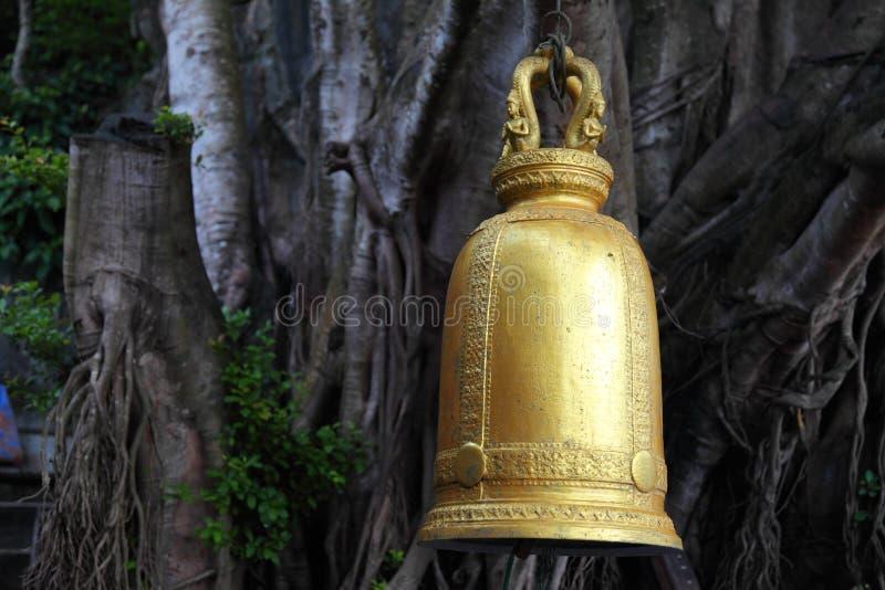 金铃的图象在泰国 免版税库存图片