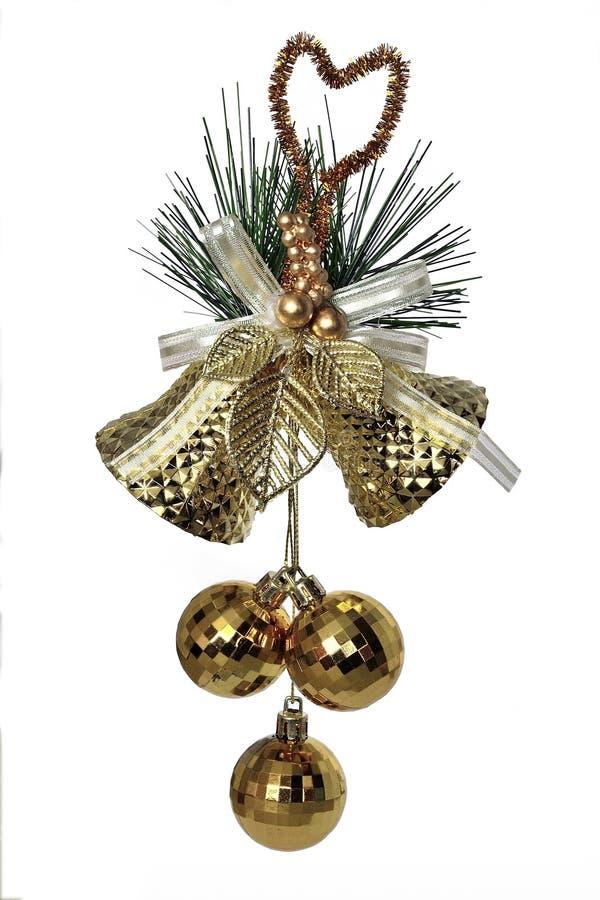 金铃-圣诞节装饰 库存图片