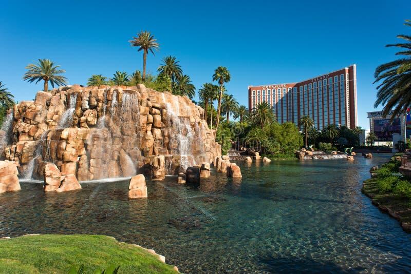 金银岛旅馆和赌博娱乐场 库存照片
