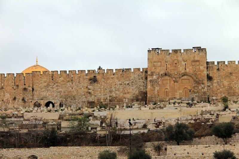 金门。耶路撒冷,以色列。 免版税库存照片