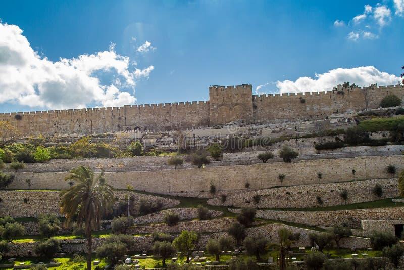 金门在耶路撒冷,以色列 库存照片