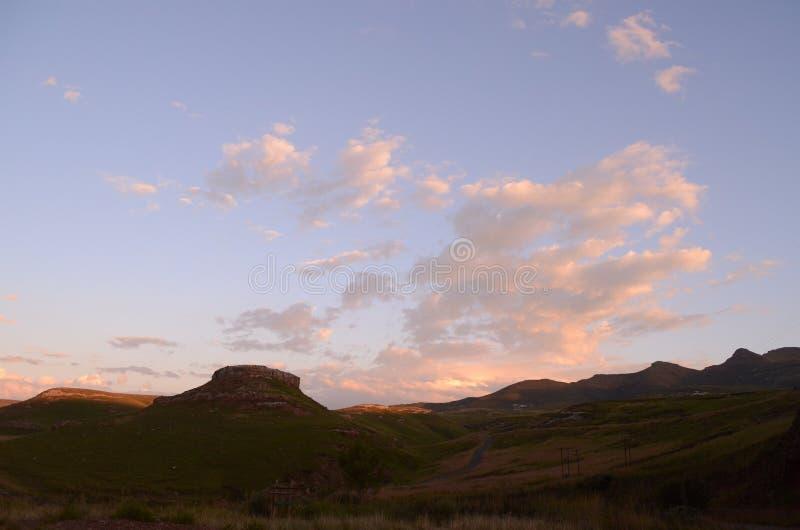 金门山和天空 库存照片