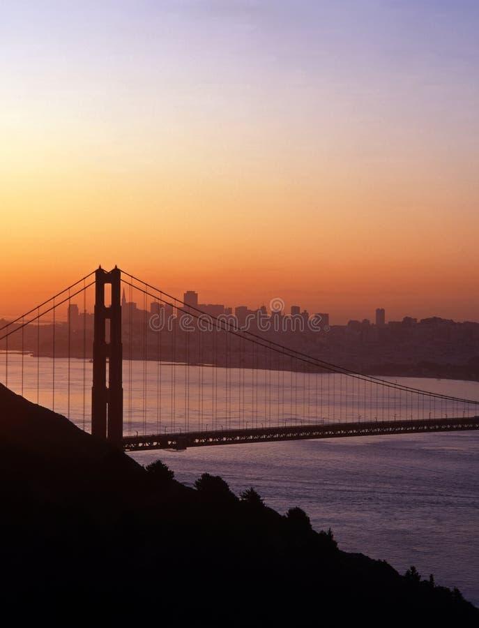 金门桥,旧金山,美国。 免版税图库摄影
