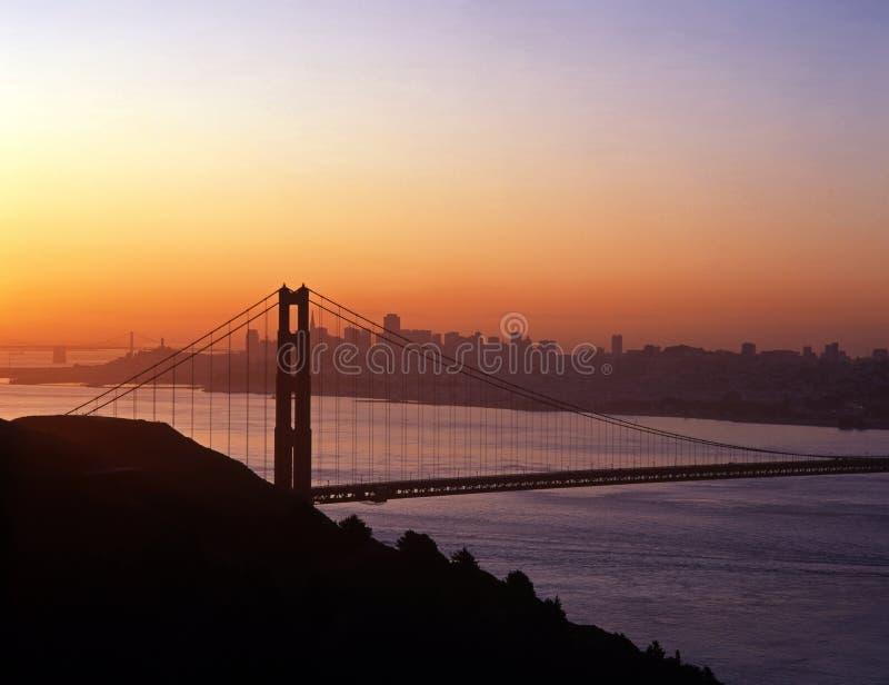 金门桥,旧金山,美国。 库存图片