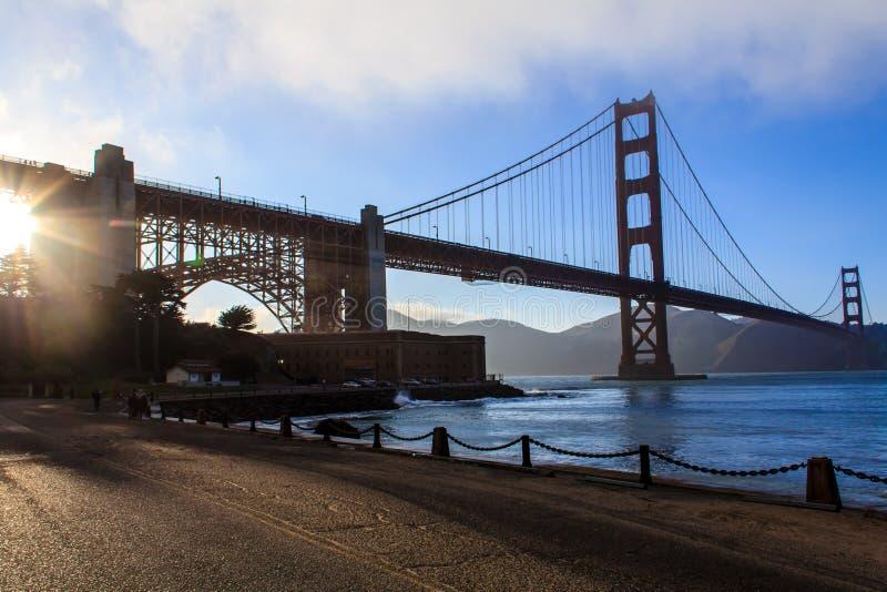 金门桥 库存照片
