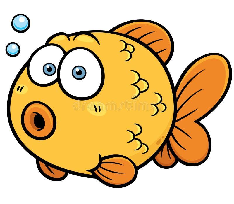 金鱼 向量例证