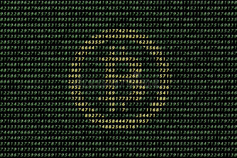 金黄在数据背景,未来派数字式金钱,技术全世界网络概念的bitcoin数字式货币 免版税库存图片