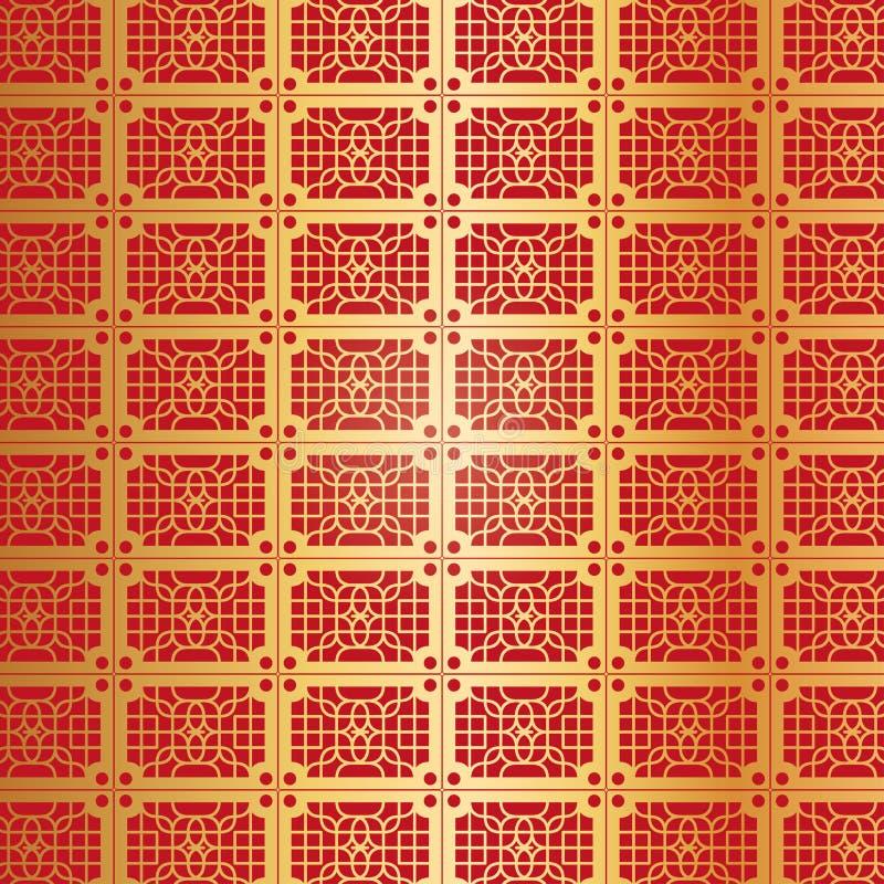金黄抽象的背景 库存例证