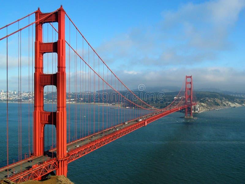 金黄桥梁的门