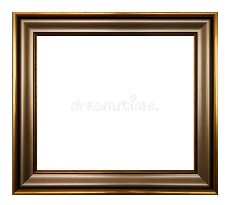 金黄画框巴落克式样样式 皇族释放例证