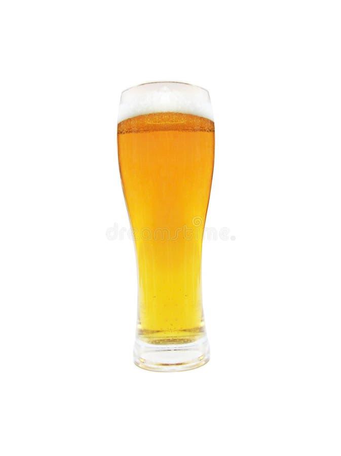 金黄的啤酒 库存照片