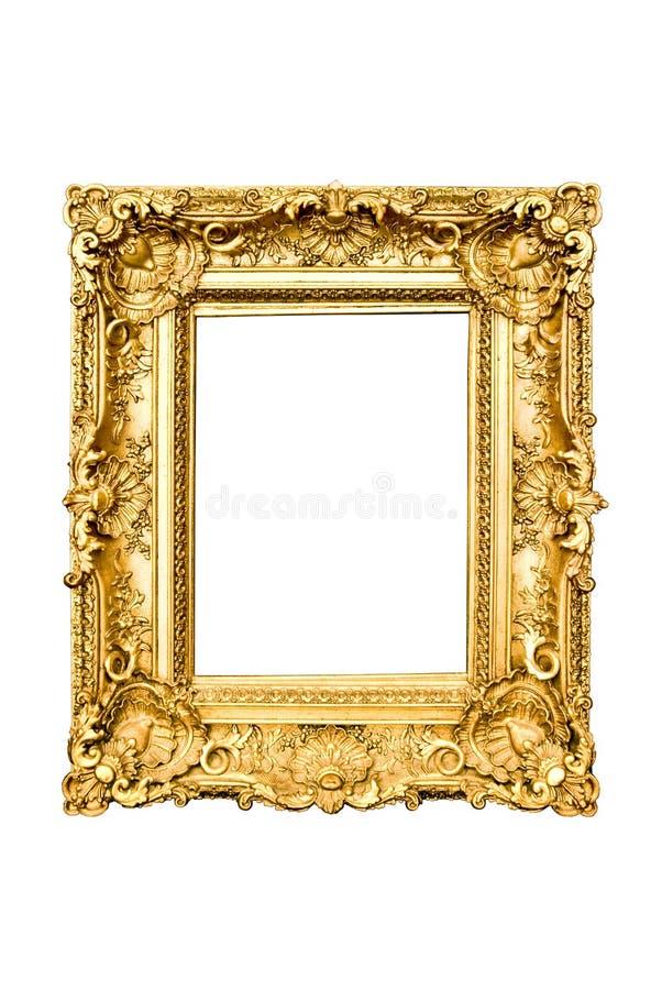 金黄的框架 库存照片