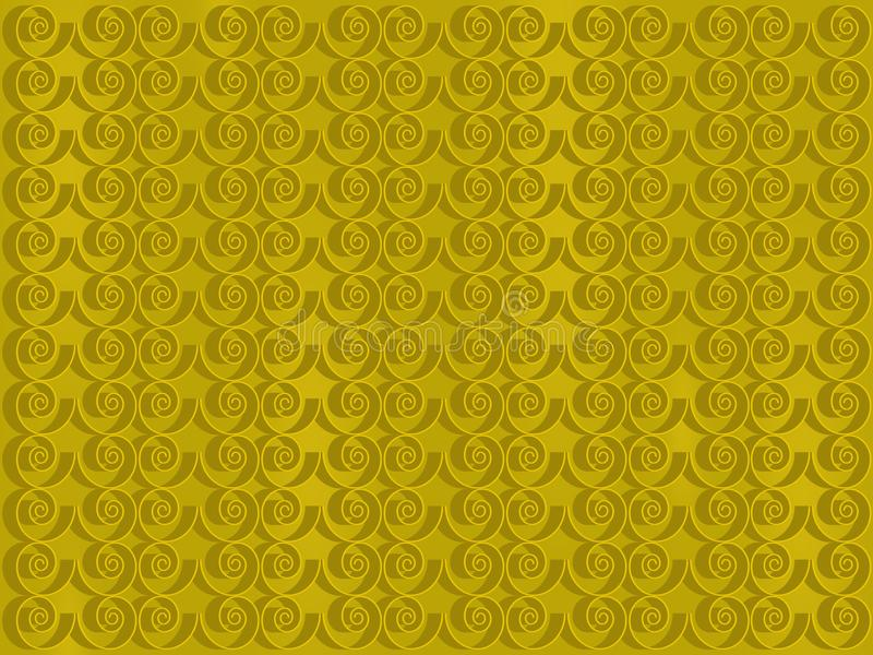 金黄的背景 库存例证